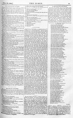 The Index – 30 April 1863